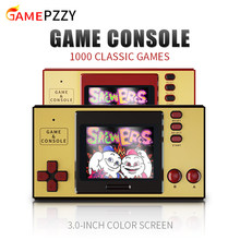Classic Video Game Console Built-in 1000 Games Mini Portable Retro Game Console 3.0 Inch Screen Gift For Kids