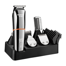 Grooming-Kit Hair-Trimmer Rechargeable Electric-Hair-Clipper Face-Beard Body Nose All-In-One