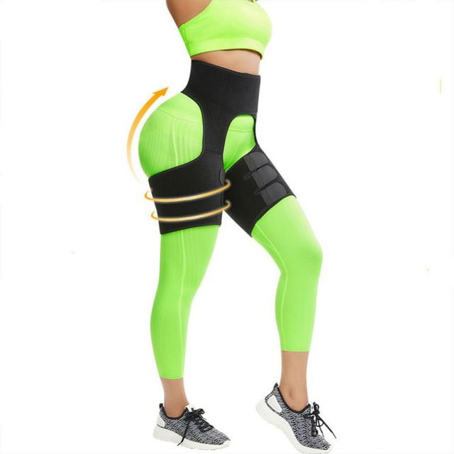 Slim Thigh Trimmer Leg Shapers Slender Slim Belts Sweat Shapewear Toned Muscles Band Thigh Slimmer Wraps
