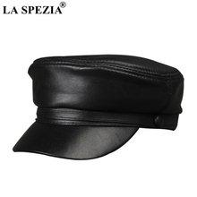Женская винтажная шляпа la spezia черная Классическая Армейская