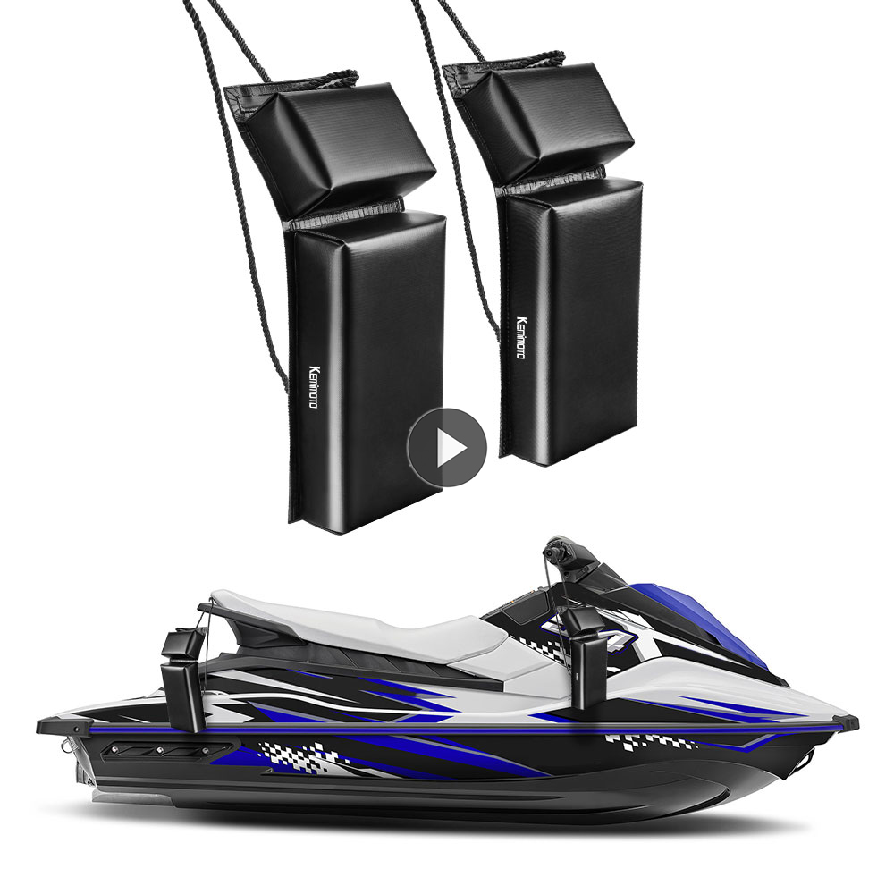 KEMiMOTO Boat Fender Protection Universal Bumper Marine Mooring Bumper For Jet Ski Boat Anchor Yacht Fenders Accessories