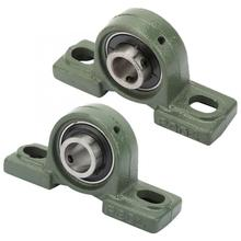1PCS Pillow Block Bearing Cast Housing Bearing Ball Mounted Bearing for Harvester Agricultural Machinery