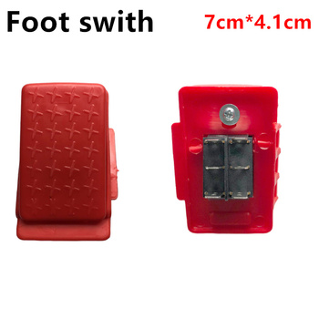 Child's electric car Self reset throttle foot switch, motorcycle rc car power switch kid's vehicle throttle switch accessories 2