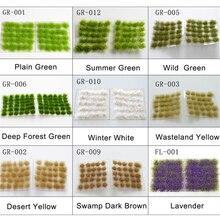 Моделирование растений трава игла строительные игрушки модель трава кустарник строительный материал Изготовление DIY сцена сцены поставки песок стол diorama