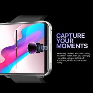 Image 3 - DM100 WiFi 4G montre intelligente 3GB + 32GB GPS Bluetooth Smartwatch appel téléphonique 5MP caméra étanche sport montre intelligente pour Android 7.1