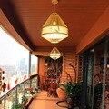 Японский бамбуковый подвесной светильник s светильник ing светодиодный светильник Подвесная лампа столовая гостиная спальня кухня Лофт под...