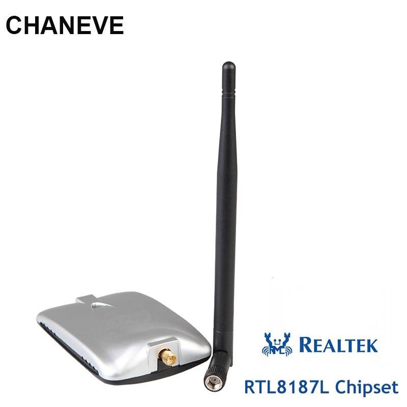 Чипсет Realtek RTL8187L, беспроводной USB Wi-Fi адаптер 54 Мбит/с, Беспроводная USB Wi-Fi карта с ALFA AWUS036H, такое же качество для kali linux
