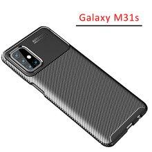 Case Voor Samsung M31s Bumper Cover Op Galaxy M 31 S 31 M31 S Samsungm31s N31s Beschermende Telefoon Coque Tas siliconen Matte Soft Tpu