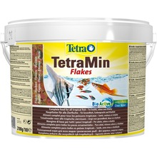 TetraMin корм для всех видов рыб в виде хлопьев 10 л(ведро