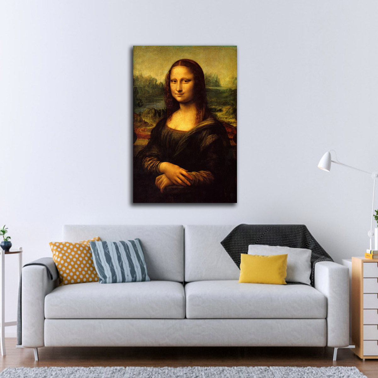 Mona Lisa Wall Hanging Art Oil Painting Canvas Painting Home Decoration Modern Spray Painting Kitchen Decor Posters Paris Art