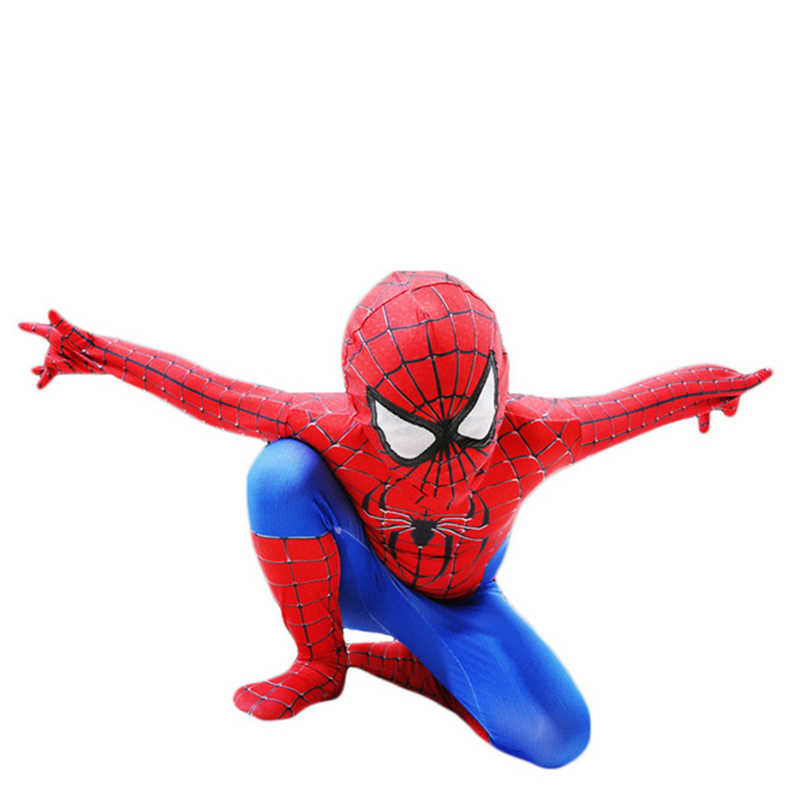 Adult Kids Spider-Man Cosplay Costume Zentai Superhero Halloween Spiderman Bodysuit Suit Jumpsuits Birthtday Party New Year Gift