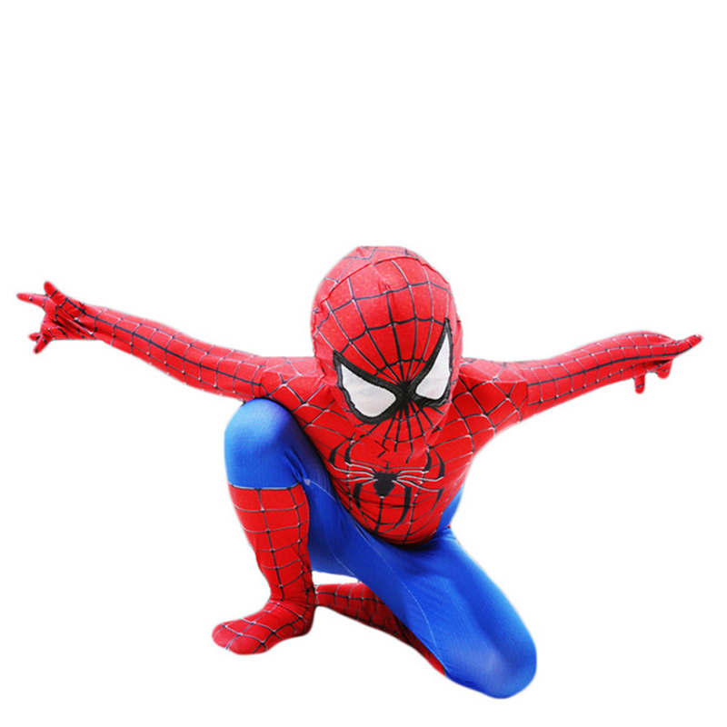 Spider-Man Jumpsuit Spiderman Superhero Kid Adult Halloween Cosplay Costume Gift