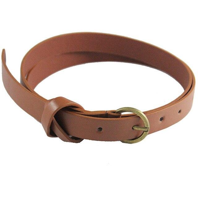Retro Copper 8 Word Decorative Belt Fashion Business Work Popular Simple Style Belt Daily Match Street Beat Birthday Gift