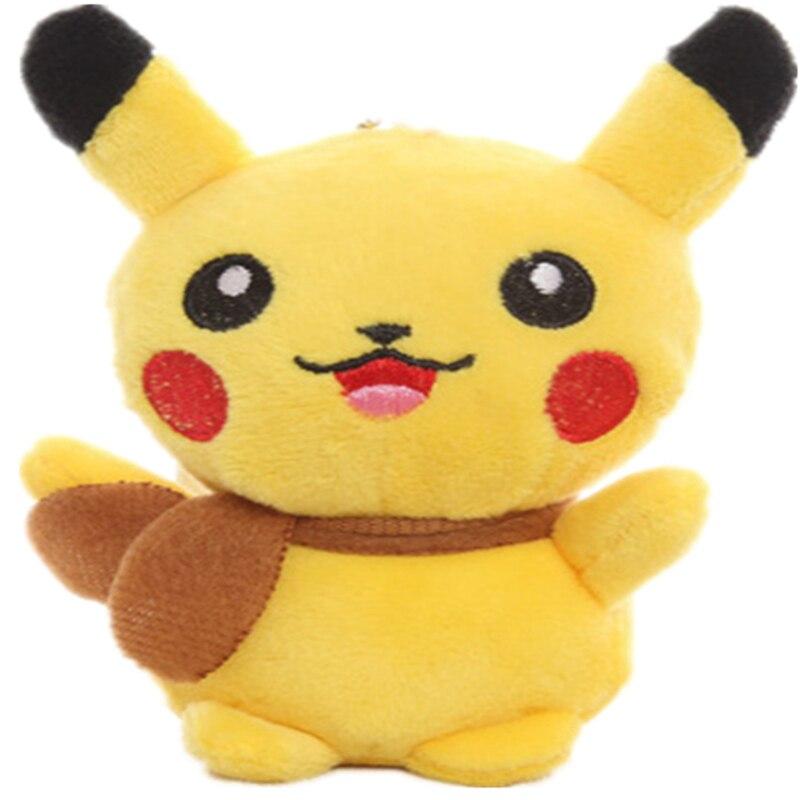 HOT Quality 13CM Approx. 5.1′ Stuffed Toy Pikachu Plush Toy Doll , Cat Stuffed Plush Doll , Stuffed Animal plush toy doll