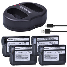 EN EL15 ENEL15 batterie d'appareil photo + double chargeur USB, pour Nikon D600 D610 D600E D800 D800E D810 D7000 D7100 d750 ,Z6,Z7