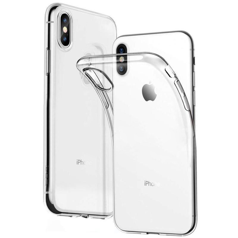 Luxury Silicone Shockproof Case On For IPhone X Xr Xs 11 Pro Max Case IPhone 7 8 Plus 5 5s SE 6 6s 4 Soft Transparent Case Cover