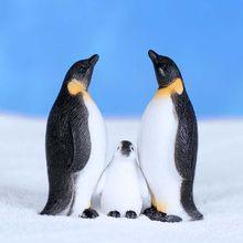 Pinguim selo animal miniatura fada jardim ornamento diy decoração de vidro pequenas coisas estatueta estátua modelo artesanato decoração para casa