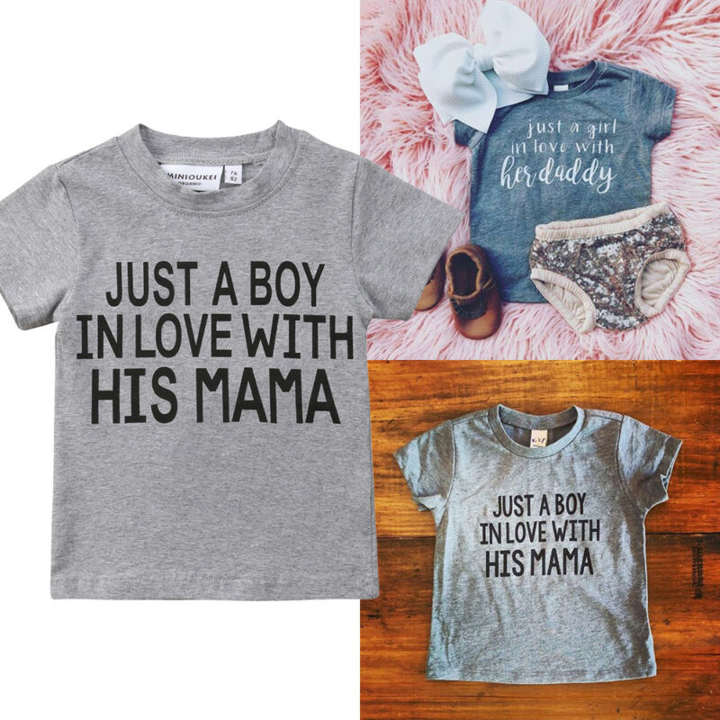 T-Shirt Blouse Boys Tops Toddler Baby-Girls Kids Cotton Fashion Summer New Gray Tee Hot-Sale