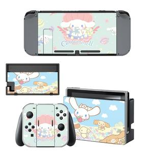 Image 3 - Autocollant dautocollants de commutateur de peau de commutateur de Nintendoswitch de cannelle pour des autocollants de peaux de Dock de contrôleur de Joy con de Console de commutateur de Nintendo