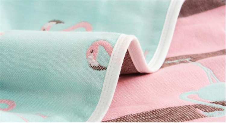 musselina cobertor swaddle cobertor unicórnio carrinho de