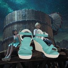 Новая обувь для косплея tifa из последней фантазии vii изготовленная