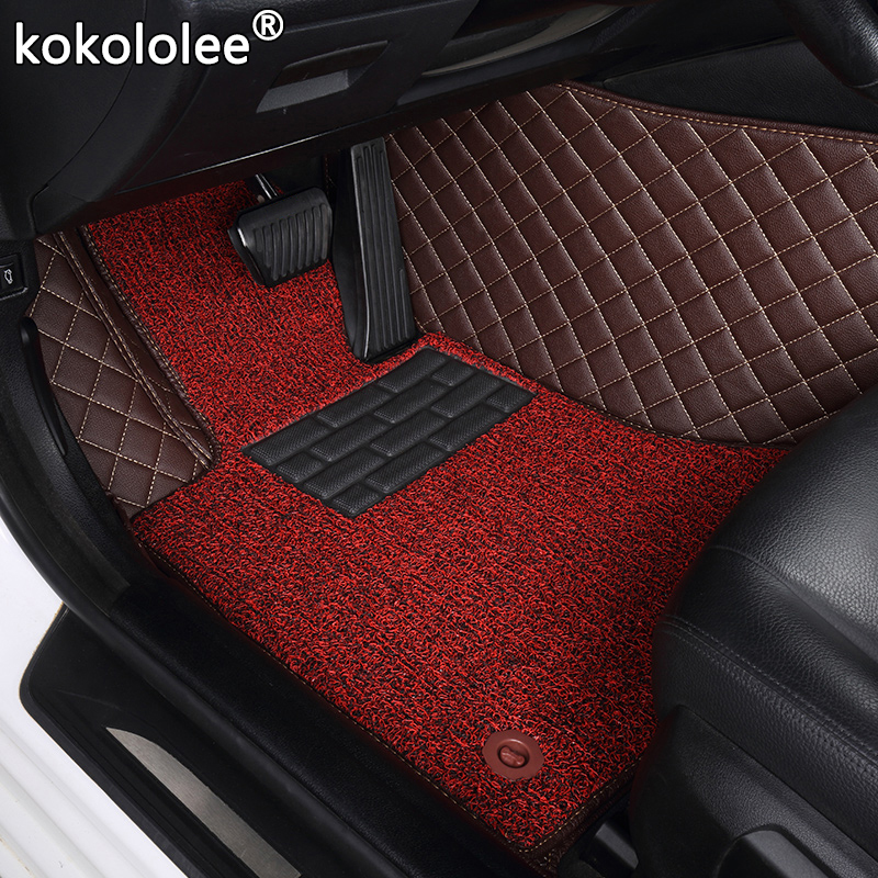 custom car floor mats for <font><b>peugeot</b></font> <font><b>308</b></font> 607 206 207 301 407 <font><b>308</b></font> 408 508 2008 4008 5008 RCZ 307 <font><b>sw</b></font> 3008 car mats auto accessories image