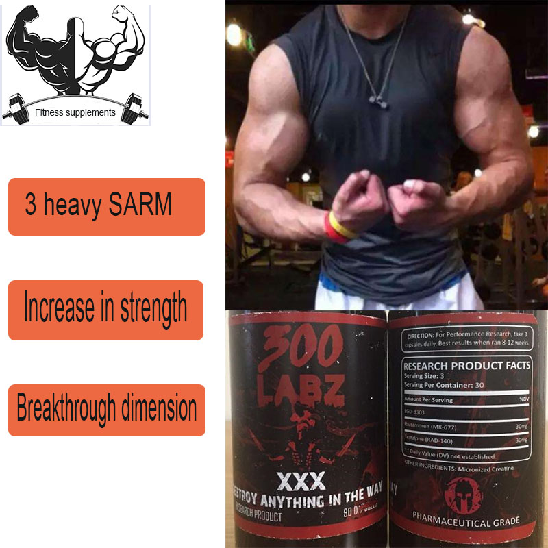 SARM Three In One, MK677 +LGD3033 + RAD140 Fitness And Muscle Strengthening SARMS