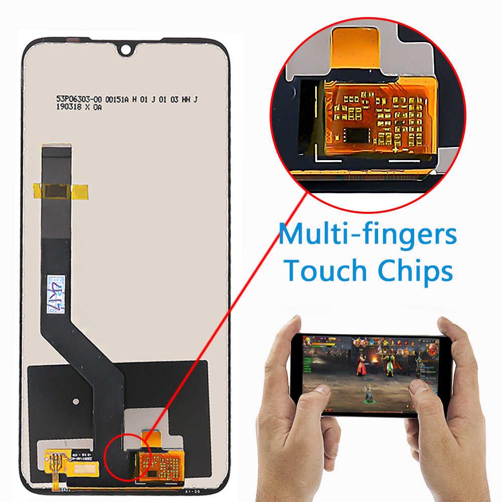 Màn hình Hiển Thị LCD 6.3 inch Dành Cho Xiaomi Redmi Note 7/Note 7 Pro Màn Hình Cảm Ứng Phủ Lớp Chống Oxy Hóa 10 Mại Khi Chạm Bộ Số Hóa lắp ráp Khung