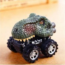 Children's Day Gift Toy Dinosaur Model Mini Toy Car Back Of The Car Gift Tyrannosaurus Rex цена и фото