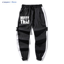2020 hip hop trousers NEW Fashion Muay Thai Thailand Boxer sweatpants For Man Geek Homme Awesome Train long pants Plus Size(China)