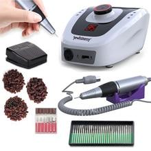 35000 RPM 32W Professional Speed Display Electric Nail Drill Machine Manicure Pedicure Machine Nail Accessory Tools Set Nail Kit недорого