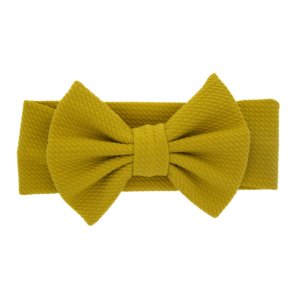 Newborn Infant Toddler Hair Accessories Xiaoyu 10PCS Baby Girls Headbands and Bows Yellow