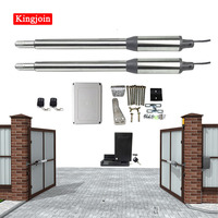 300KG automatic Dual Arm swing Gate Opener Operator Motor drive swing door open opener For access control home security