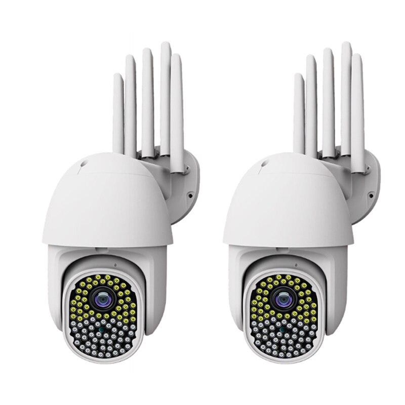 360 Degree Wireless PTZ Outdoor Waterproof Ball Machine Camera Security Network WiFi HD Monitoring Camera