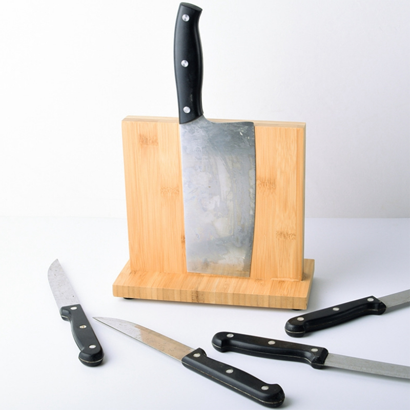 LBER Magnetic Turret With Magnetics - Kitchenware Magnetic Turret Holder For Better Bamboo - Magnetic Knife Holder, Toolless Org