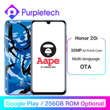 Honor 20i honor 20 lite Smartphone 6.21'' 32MP AI Front Camera Face Fingerprint Unlock Mobi