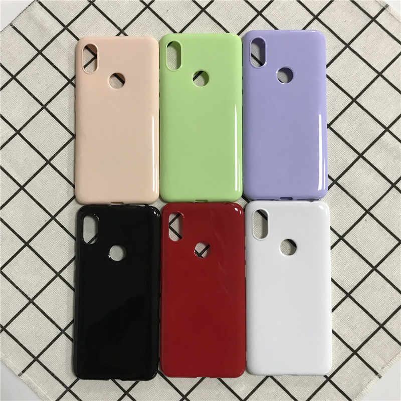 Bright Glossy Case for Xiaomi Mi 8 Lite 9 9T CC9E A2 A3 Case Redmi Note 5 6 7 8 Pro 6A 7A 8A S2 K20 GO Soft Silicone TPU Cases