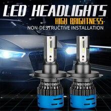 Car Headlight H7 LED H4 LED H11 9005 9006 9012 55W