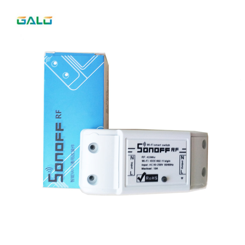 Wifi Switch Relay Module AC 90V-250V 220V Wireless Light Timer Switch For Smart Home Automation