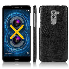 For Huawei Honor 6X Premium Case 5.5 inch Luxury PU Leather Back Cover Phone Case For Huawei Honor 6X Honor6X 6 X Premium Cover(China)
