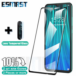 На Алиэкспресс купить стекло для смартфона 2in1 full cover tempered glass for xiaomi redmi note 8t 9s 7 8 9 pro max screen protector glass on the redmi 7 7a 8 8a lens film