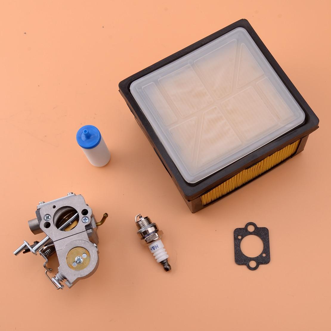 5pcs Carburetor Air Fuel Filter Kit Fit for Husqvarna Partner K750 K760 Chainsaw ZAMA C3-EL53 503 28 32 09 503-28-32-09