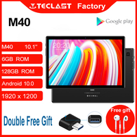Tablet M40 10.1 inch Android 10.0 tablet PC 6GB RAM 128GB ROM 8MP Camera Dual 4G Phone Call Bluetooth5.0 OTG Type-C tablet pc