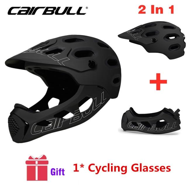Cairbull Mountain Bike Helmet Adult Full Covered Downhill  Full Face Helmet OFF ROAD MTB Road Bicycle Helmet Cycling Helmet BMX