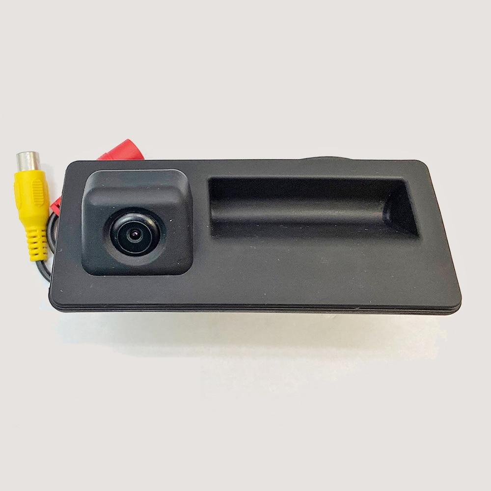 ZOYOSKII Car Trunk Handle Rearview Camera For Audi Volkswagen Skoda Speed Octa HD 1280x720P Starlight Night Vision MCCD Lens