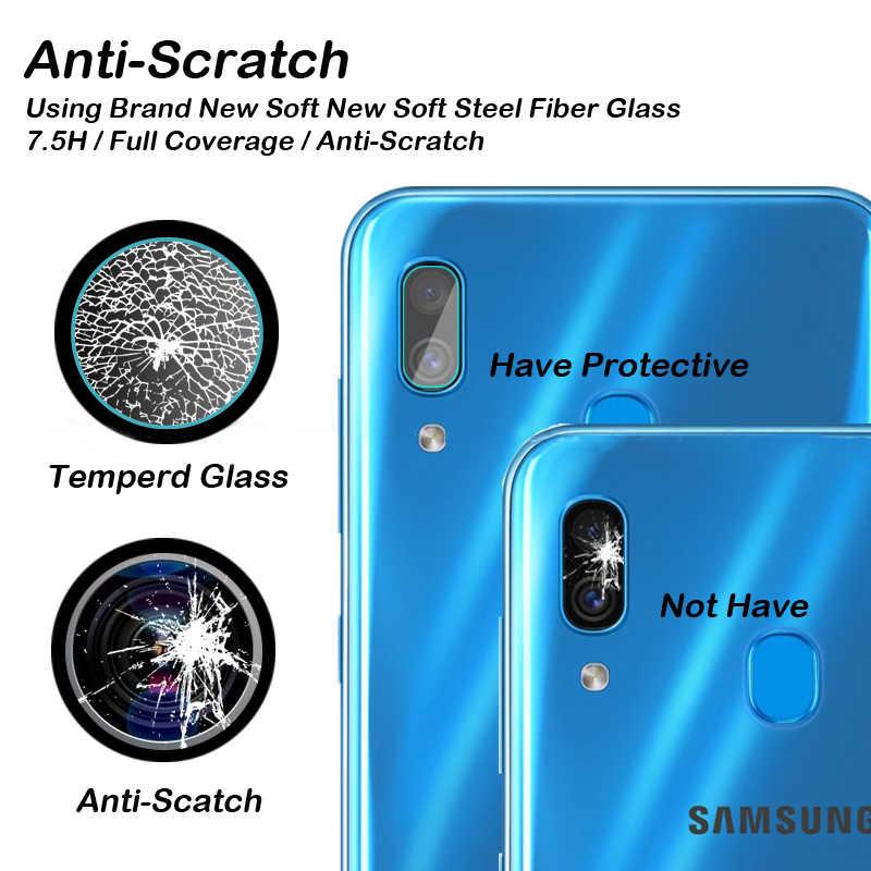 2-в-1 a505F Защитное стекло для samsung Galaxy a50 камеры объектив Защитная пленка для экрана на samsung 50 50a защитная пленка из закаленного стекла