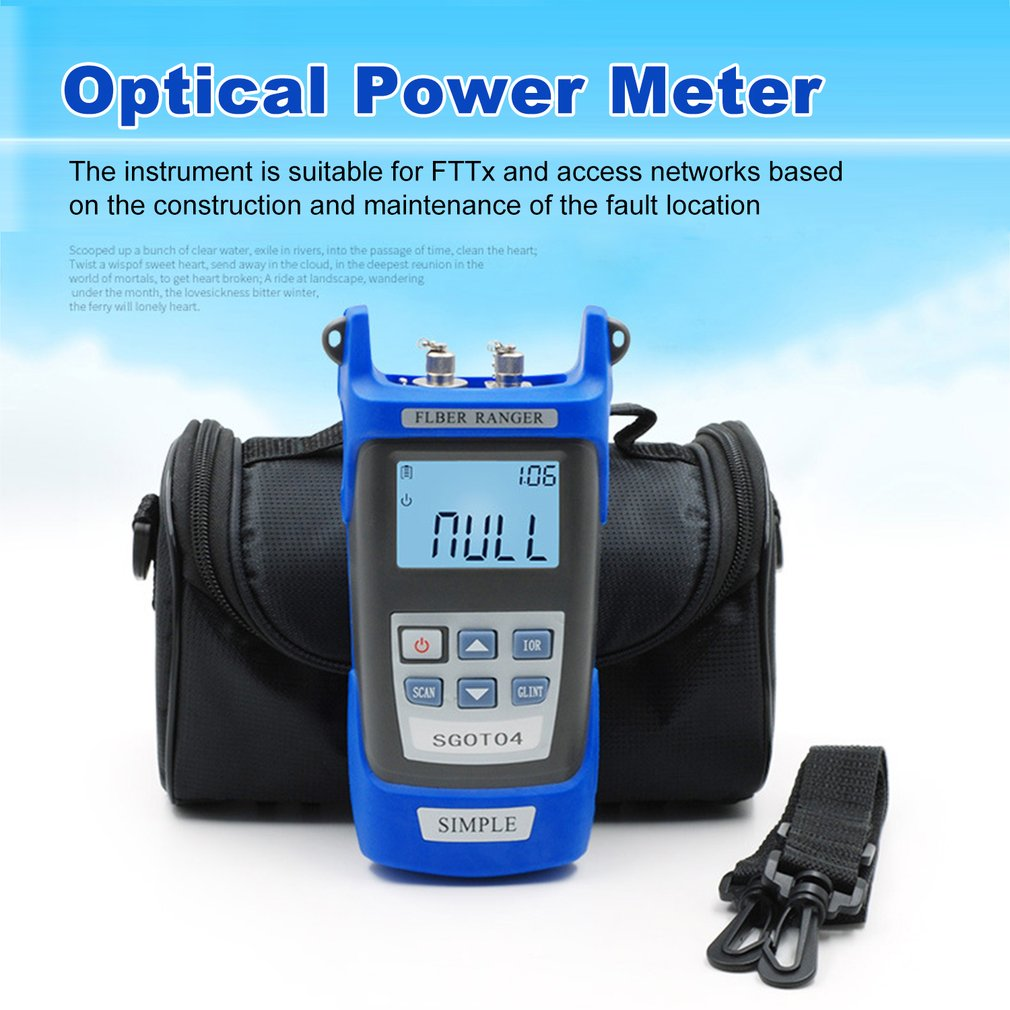 Handheld Visual Fault Locator and OTDR Optical Fiber Breakpoint Detector to Test Fault Location 2