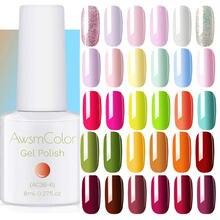 Awsm Цвет набор гель лаков для ногтей пастельно uv led био Гели