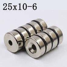 1Pcs 25x10-6 Neodymium Magnet…