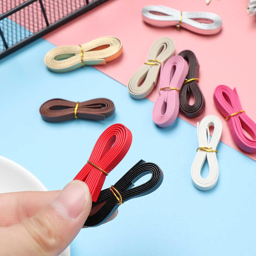 2020 MINI DIY ตุ๊กตากระเป๋าวัสดุเข็มขัดเอวตุ๊กตาเข็มขัด Handmade ตุ๊กตาเสื้อผ้ากระเป๋าเย็บอุปกรณ์เสริมความยาว 50 ซม.ความกว้าง 3/5 มม.